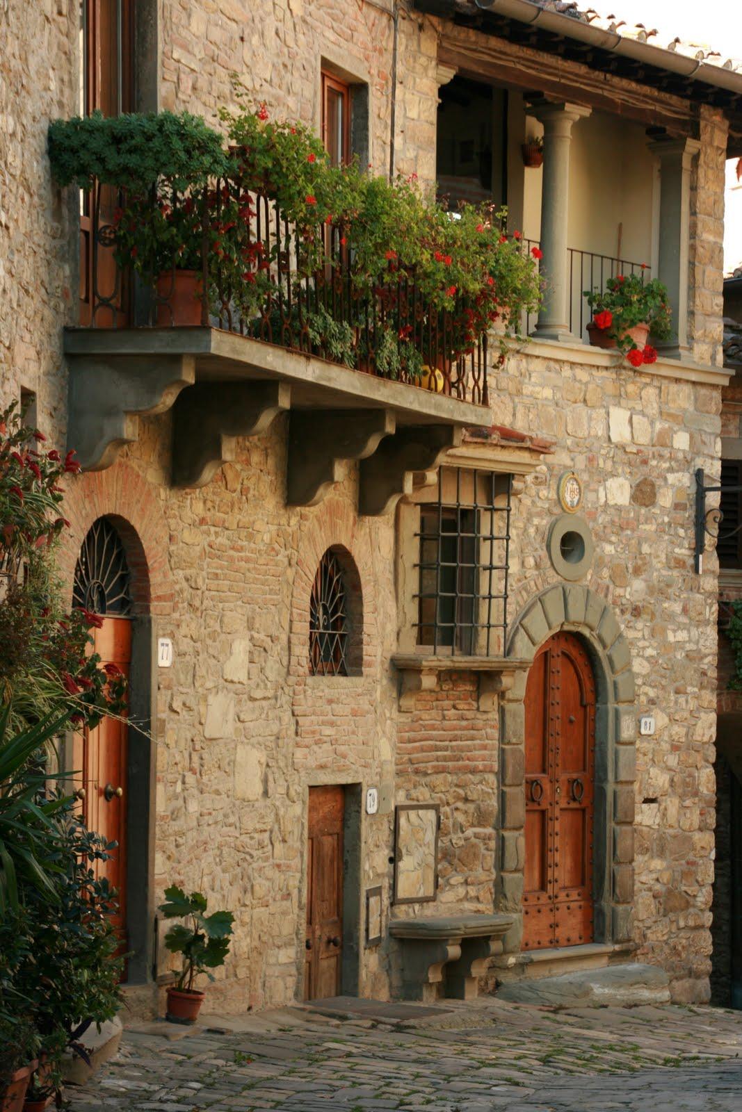 Josephinas Balkon mit Blick auf den Marktplatz